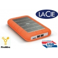 Disco duro 500GB LaCie Rugged Triple USB 3.0 2.0 FireWire 800 contra golpes