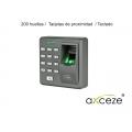Control de acceso axceze ONE80 standalone teclado proximidad 200 huellas