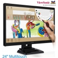 "Monitor Táctil 24"" Viewsonic TD2420 HDMI DVI VGA con pluma y bocinas"