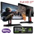 "Monitor 27"" BenQ XL2720Z Gamer Profesional 3D 120hz Full-HD DP DVI HDMI VGA"