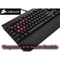 Teclado Corsair Vengeance K70 Mecánico para Juegos Anodized Black