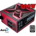 Fuente de poder modular AeroCool Strike-X 800W 80+ Silver para Nvidia SLI y Radeon Crossfire
